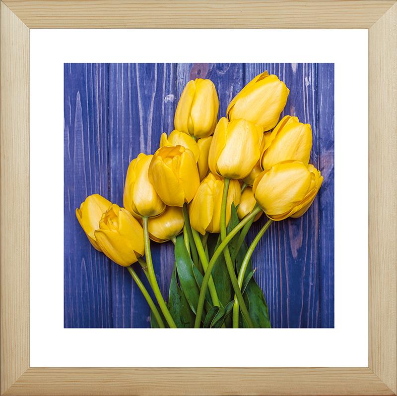 рисунок в желтых тонах цвета