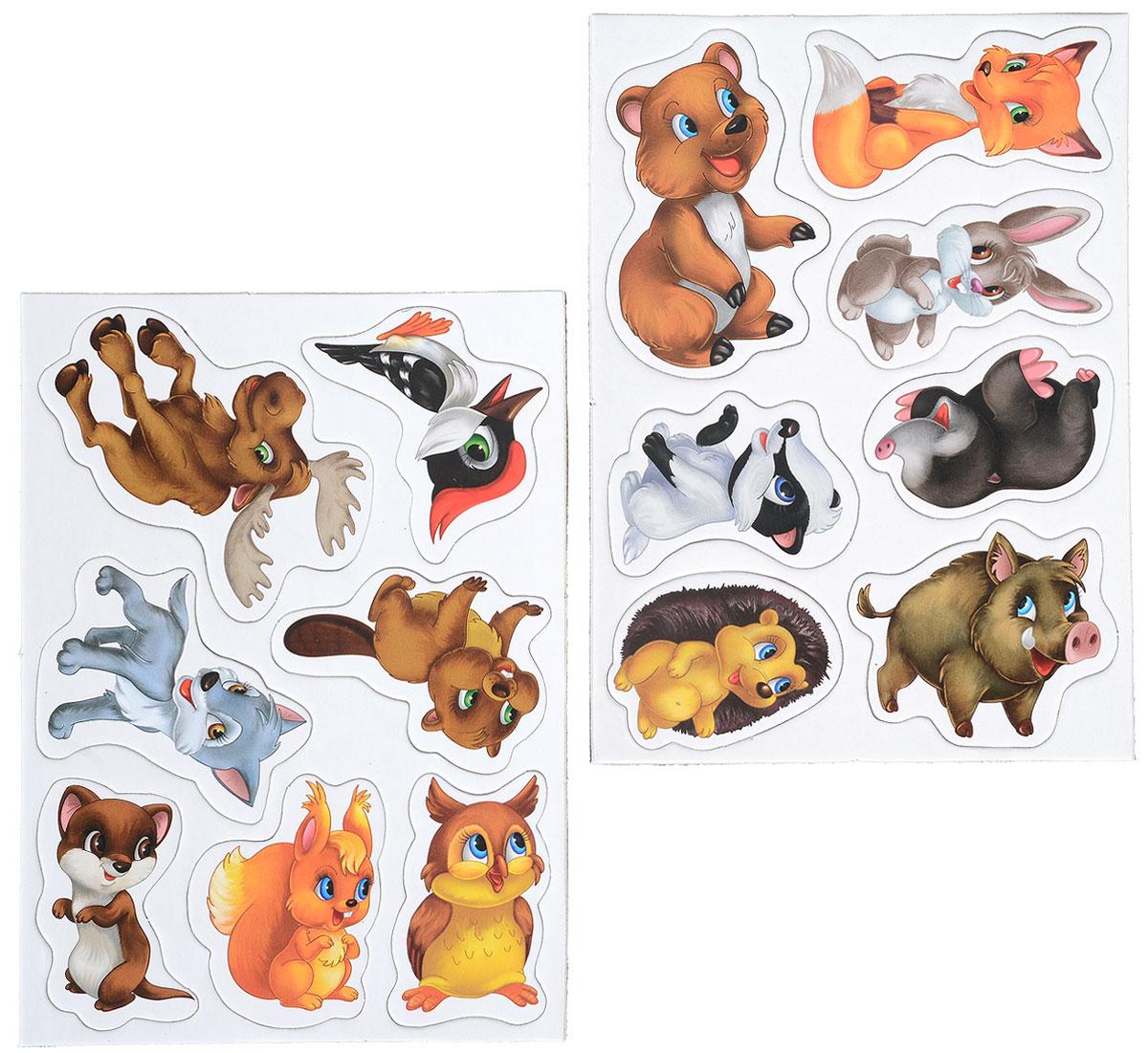 картинки животных лесных для вырезания глянцевом журнале