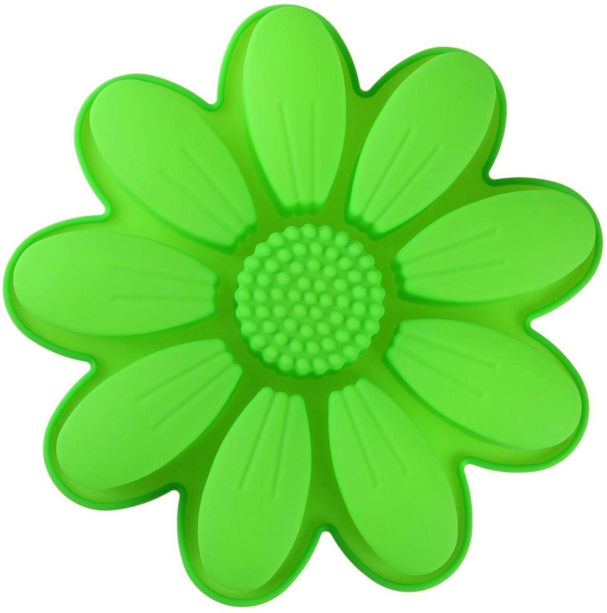картинка цветочек зеленый сердце футаж