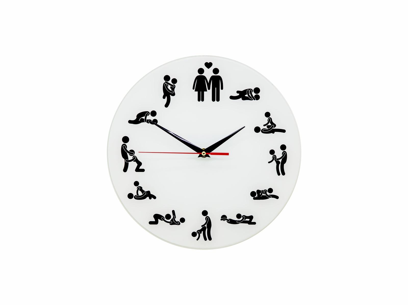 Картинка часов с позами